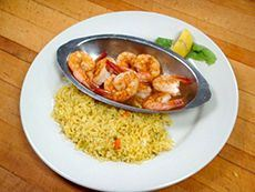 Shrimp and Rice Dish