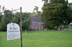St. Johns Episcopal Church Exterior